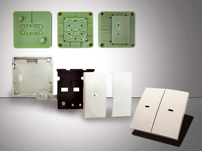 3d druk injection molds